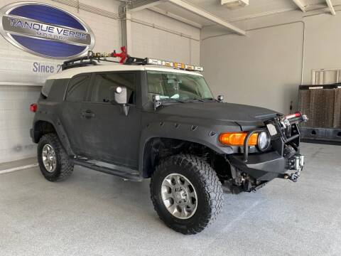 2012 Toyota FJ Cruiser for sale at TANQUE VERDE MOTORS in Tucson AZ