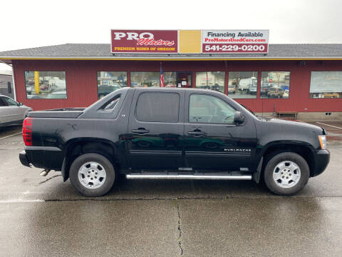 2011 Chevrolet Avalanche for sale at Pro Motors in Roseburg OR