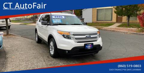 2012 Ford Explorer for sale at CT AutoFair in West Hartford CT