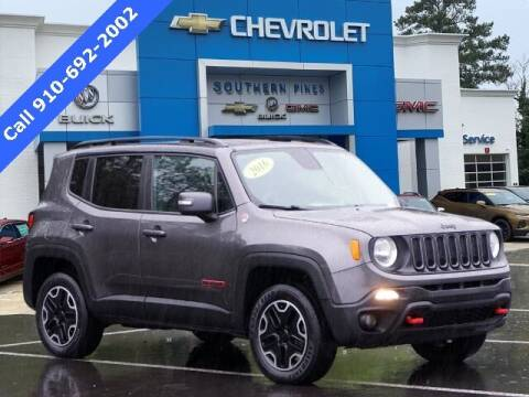 2016 Jeep Renegade for sale at PHIL SMITH AUTOMOTIVE GROUP - SOUTHERN PINES GM in Southern Pines NC