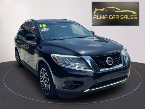 2016 Nissan Pathfinder for sale at Alma Car Sales in Miami FL
