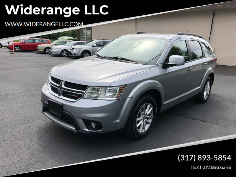 2015 Dodge Journey for sale at Widerange LLC in Greenwood IN