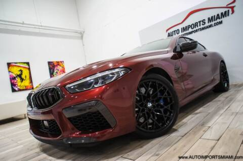 2020 BMW M8 for sale at AUTO IMPORTS MIAMI in Fort Lauderdale FL
