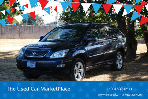 2004 Lexus RX 330 for sale at The Used Car MarketPlace in Newberg OR