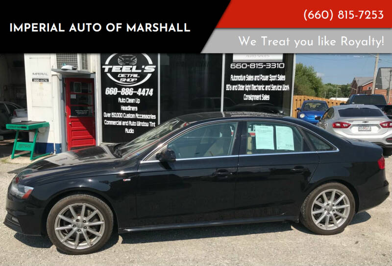 2014 Audi A4 for sale at Imperial Auto of Slater in Slater MO