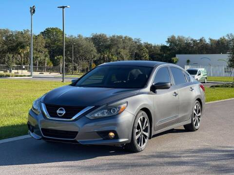 2016 Nissan Altima for sale at GENESIS AUTO SALES in Port Charlotte FL