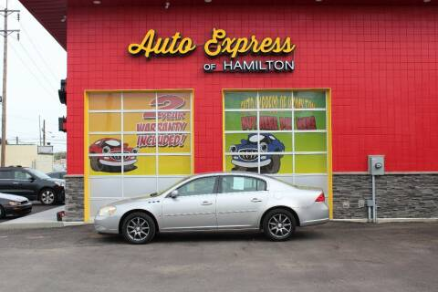 2006 Buick Lucerne for sale at AUTO EXPRESS OF HAMILTON LLC in Hamilton OH