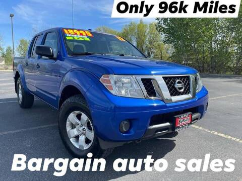 2012 Nissan Frontier for sale at Bargain Auto Sales LLC in Garden City ID