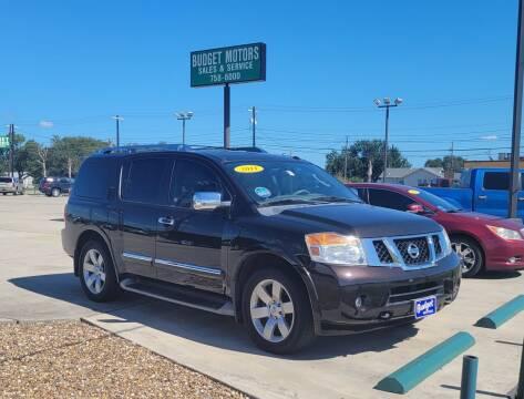 2011 Nissan Armada for sale at Budget Motors in Aransas Pass TX