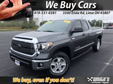 2018 Toyota Tundra for sale at White's Honda Toyota of Lima in Lima OH