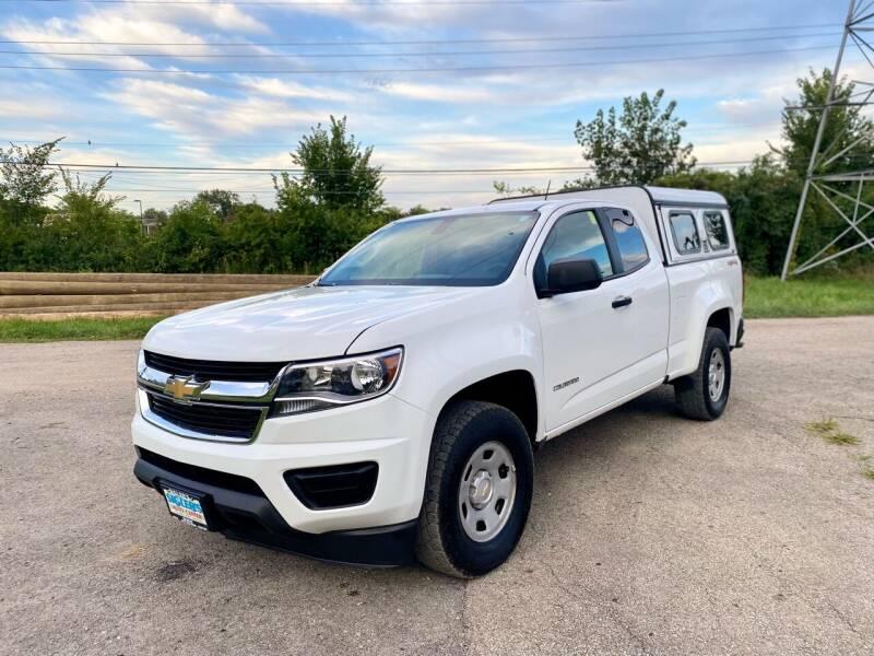 2017 Chevrolet Colorado for sale at Siglers Auto Center in Skokie IL