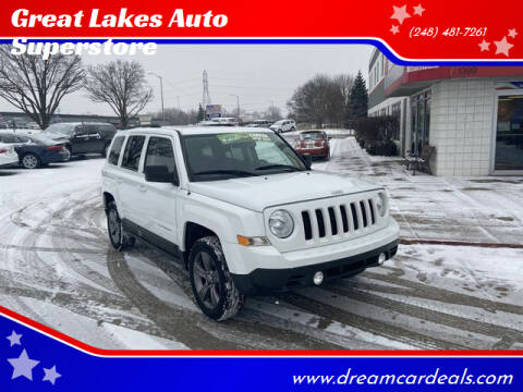 2015 Jeep Patriot for sale at Great Lakes Auto Superstore in Pontiac MI