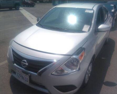 2018 Nissan Versa for sale at SoCal Auto Auction in Ontario CA