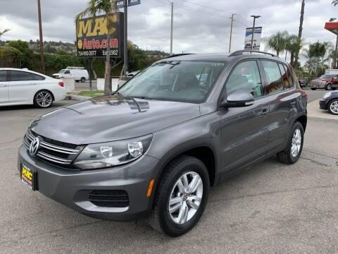2016 Volkswagen Tiguan for sale at Mac Auto Inc in La Habra CA