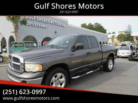 2003 Dodge Ram Pickup 1500 for sale at Gulf Shores Motors in Gulf Shores AL