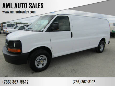2010 Chevrolet Express Cargo for sale at AML AUTO SALES - Cargo Vans in Opa-Locka FL
