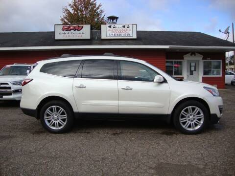 2013 Chevrolet Traverse for sale at G and G AUTO SALES in Merrill WI