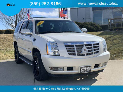 2009 Cadillac Escalade for sale at New Circle Auto Sales LLC in Lexington KY
