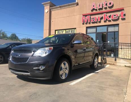 2014 Chevrolet Equinox for sale at Auto Market in Oklahoma City OK
