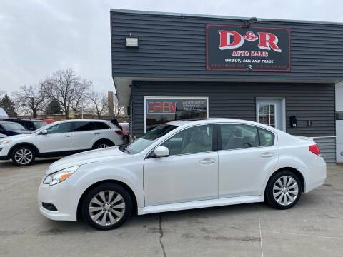 2010 Subaru Legacy for sale at D & R Auto Sales in South Sioux City NE