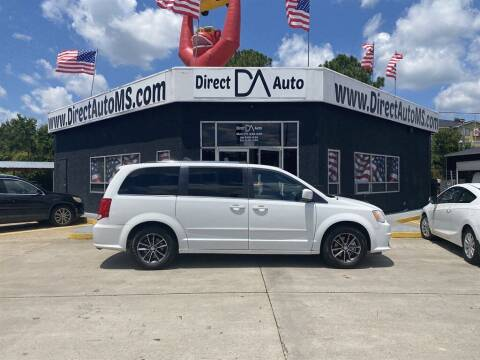 2017 Dodge Grand Caravan for sale at Direct Auto in D'Iberville MS