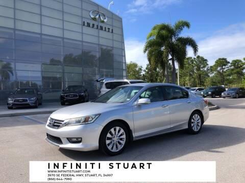 2013 Honda Accord for sale at Infiniti Stuart in Stuart FL