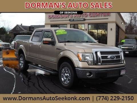 2011 Ford F-150 for sale at DORMANS AUTO CENTER OF SEEKONK in Seekonk MA