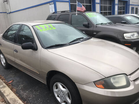 2004 Chevrolet Cavalier for sale at Klein on Vine in Cincinnati OH