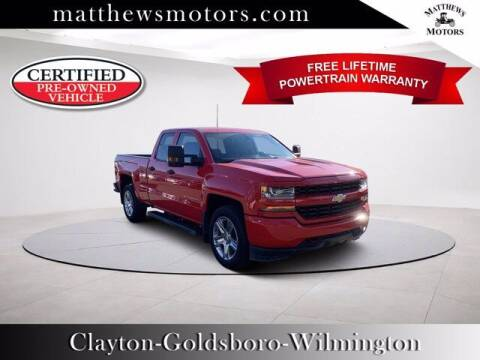 2018 Chevrolet Silverado 1500 for sale at Auto Finance of Raleigh in Raleigh NC