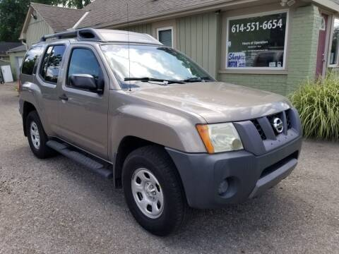 2007 Nissan Xterra for sale at Sharpin Motor Sales in Columbus OH