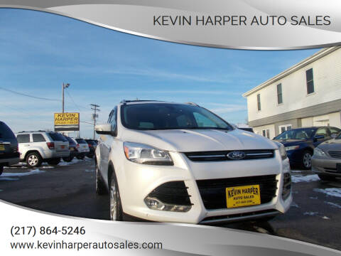 2013 Ford Escape for sale at Kevin Harper Auto Sales in Mount Zion IL