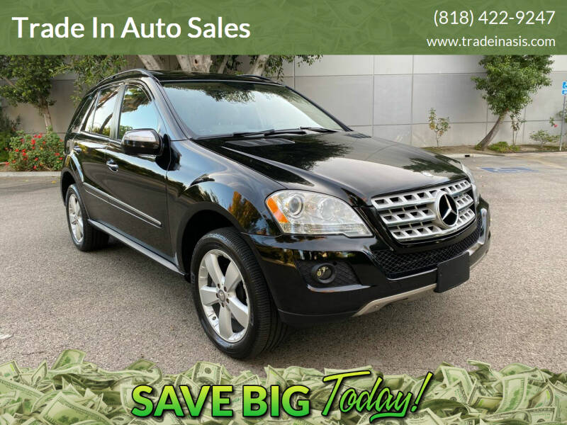 2009 Mercedes-Benz M-Class for sale at Trade In Auto Sales in Van Nuys CA