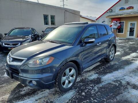 2007 Acura RDX for sale at Rochester Auto Mall in Rochester MN