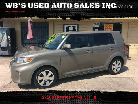 2014 Scion xB for sale at WB'S USED AUTO SALES INC in Houston TX