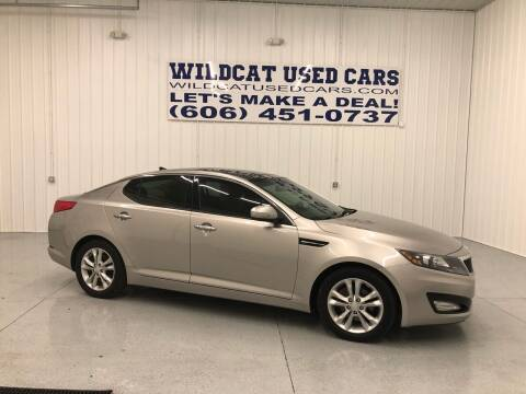 2013 Kia Optima for sale at Wildcat Used Cars in Somerset KY