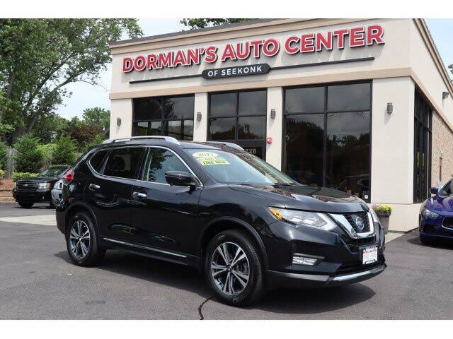 2017 Nissan Rogue for sale at DORMANS AUTO CENTER OF SEEKONK in Seekonk MA