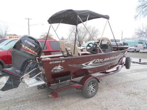 2020 Polaris Outlander Fishing Boat