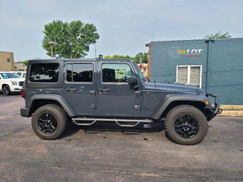 2017 Jeep Wrangler Unlimited for sale at THE LOT in Sioux Falls SD