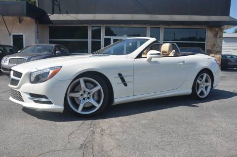 2015 Mercedes-Benz SL-Class for sale at Amyn Motors Inc. in Tucker GA