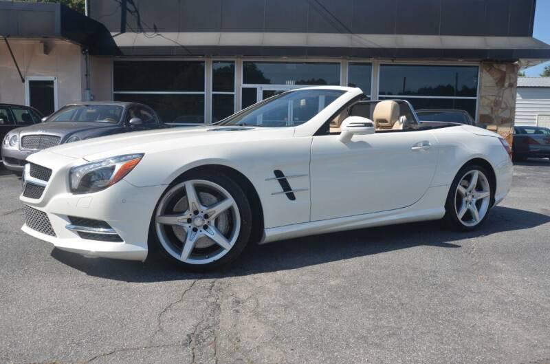2015 Mercedes-Benz SL-Class for sale at Amyn Motors Inc. in Tucker GA
