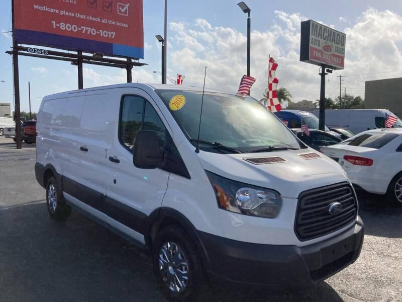 2018 Ford Transit Cargo for sale at MACHADO AUTO SALES in Miami FL