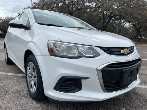 2017 Chevrolet Sonic for sale at PRESTIGE AUTOPLEX LLC in Austin TX