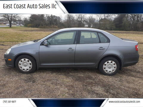2006 Volkswagen Jetta for sale at East Coast Auto Sales llc in Virginia Beach VA