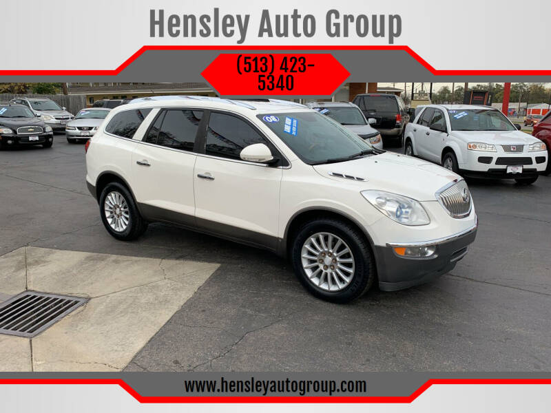 2008 Buick Enclave for sale at Hensley Auto Group in Middletown OH