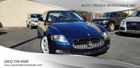 2011 Maserati Quattroporte for sale at Auto Trader Wholesale Inc in Saddle Brook NJ