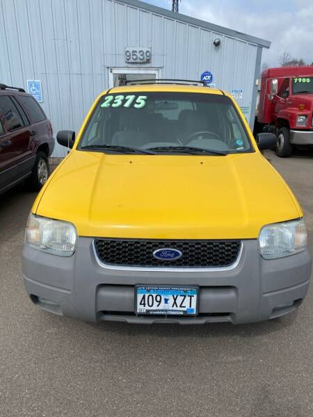 2002 Ford Escape XLT Choice 4WD 4dr SUV - Ramsey MN