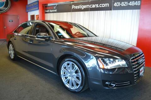 2012 Audi A8 L for sale at Prestige Motorcars in Warwick RI