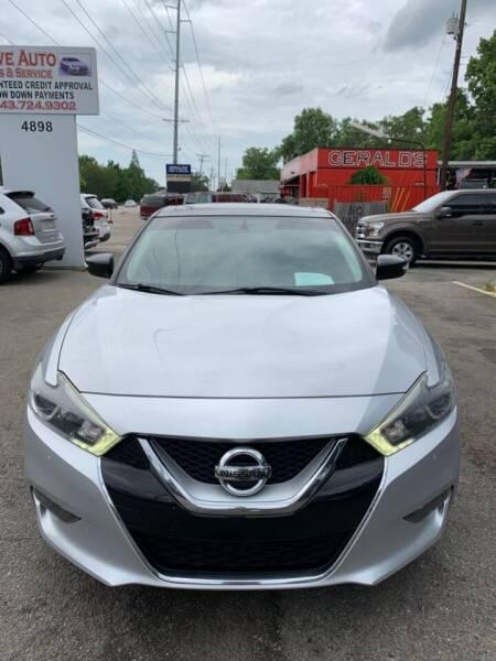 2017 Nissan Maxima for sale at Drive Auto Sales & Service, LLC. in North Charleston SC