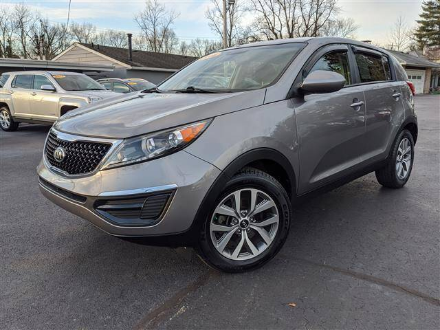 2016 Kia Sportage for sale at GAHANNA AUTO SALES in Gahanna OH