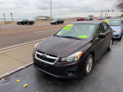 2012 Subaru Impreza for sale at Quincy Shore Automotive in Quincy MA